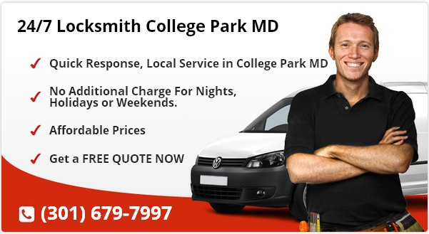 24 Hour Locksmith College Park MD